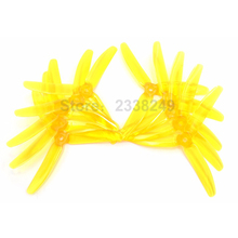 10pairs KINGKONG Clear Propellers 5″ 5040 3 Blades 5x4x3 CW CCW Prop Multi-color For RC Martian Racing Quadcopter Drones