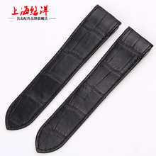 youyang Alligator Leather Watchband substitute Santos 100 Soft stylish high end 23mm