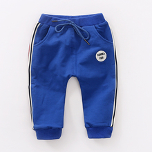 YiErYing  Baby Pants Prints Children Clothes Spring Autumn Leisure Movement Newborn Trousers
