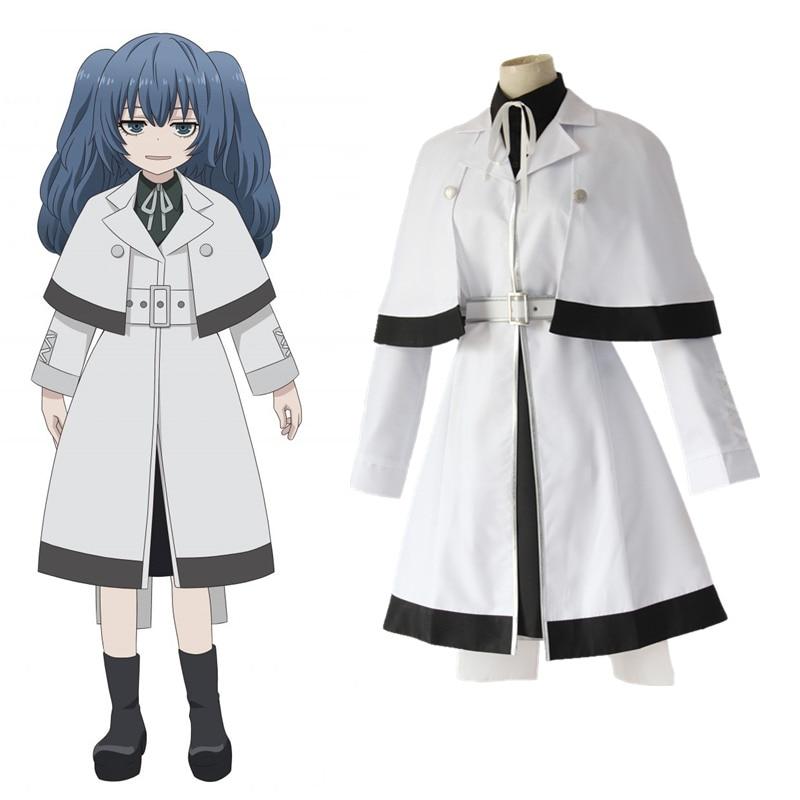 Tie+Track Tokyo Ghoul Touka Kirishima Uniform Anime Cosplay Costume Coat+skirt