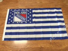NHL New York Rangers flag 3x5ft polyester banner American flag 150 * 90 cm