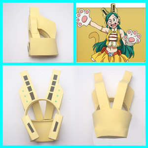 Image 4 - My Hero Academia Mandalay Bob Pussycats Ragdoll Tiger Cosplay, accessoire pour casque Boku No Hero academic, accessoire pour Cosplay