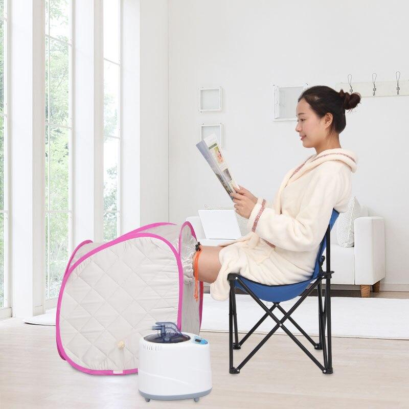 2017 Best Sauna box steam sauna foot bath bucket heater Foot Steam relax slimming Free Shipping