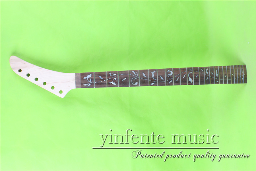 S-00156 # 25.5 Electric guitar neck fine quality  rosewood   fingerboard 24 fret s 00166 25 5 big head electric guitar neck fine quality rosewood fingerboard 22 fret