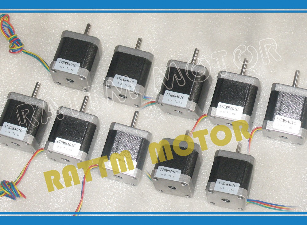 2015 Direct Selling Hybrid 2 Ce Iso Rohs New Products!!! 10pcs Nema17 Stepper Motor 0.9 Deg /48mm/ 78 Oz-in / 1.8a Cnc Stepping