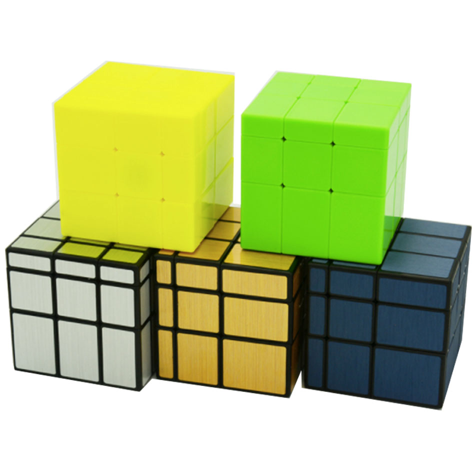 New Qiyi Mirror Magic Cube Puzzle Puzzle Speed Twist Learning & Education Toys For Children Brain Teaser IQ Toys