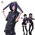 Rolecos Leather Anime Kaneki Ken Kirishima Touka Tokyo Ghoul Cosplay Costume Set
