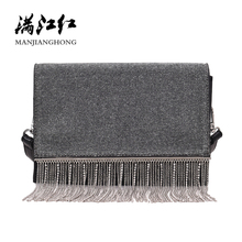 2019 New Women Messenger Bag Chain Sequins Tassel Crossbody Bags For Girls Shoulder Bags Female Handbags Bolsos Muje SH1140