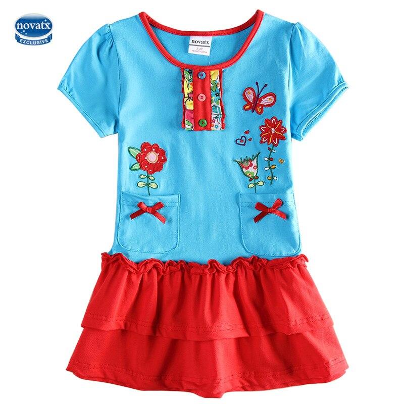 retail baby girl dress 2017 new nova kids princess cartoon print girl dress children clothes retail dress baby girl frocks retail new arrival100