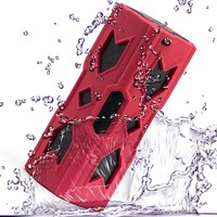New Bluetooth Music Player Subwoofer Sound Box NFC Portable Wireless Handsfree Speaker Power Bank With Built