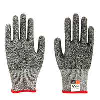 10 Pair Safety Cut Proof Stab Resistant Stainless Steel Wire Metal Mesh Butcher Gloves Cut Resistant Working Safety