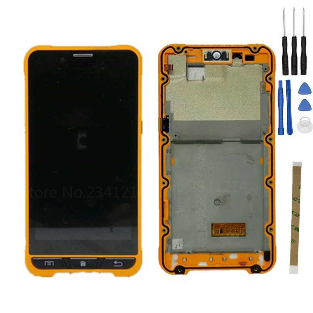 Repair Tools Original For Ulefone Armor 4 7inch Capacitive Touch Screen LCD Display Assembly Replacement Black