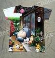 Pista do Navio + New Verão Fresco T-shirt Top Tee Quente Meu Vizinho Totoro Noir com Prison usavich Coelho Bonito Mini espírito 0611