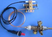 Auto Shut Off Gas Safely Valve Thermocouple Valve Flameout Protect Safe Valve With Piezo Igniter