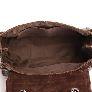 Image 5 - Johnature 2020 nouveau Vintage en cuir véritable fleur en relief rabat poche polyvalent épaule et sacs à bandoulière mode femmes rabat