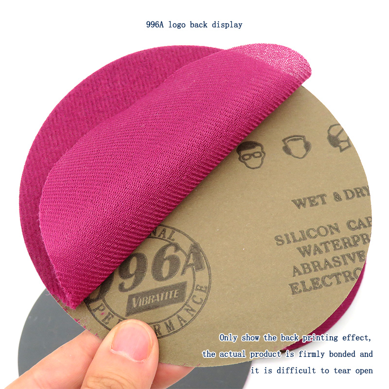 Image 5 - 20pcs 6 Inch 150mm Waterproof Sanding Discs Hook & Loop Silicon Carbide Sandpaper Wet/Dry 60 to 10000 Grit for Polishing-in Abrasive Tools from Tools