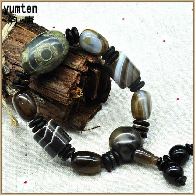 Yumten Agate Joya Perla Bracelete Pulseras Hombre Armband Jewelry For Man Cuff Bracelets New Opal Bracelet Sieraden Maken 2017