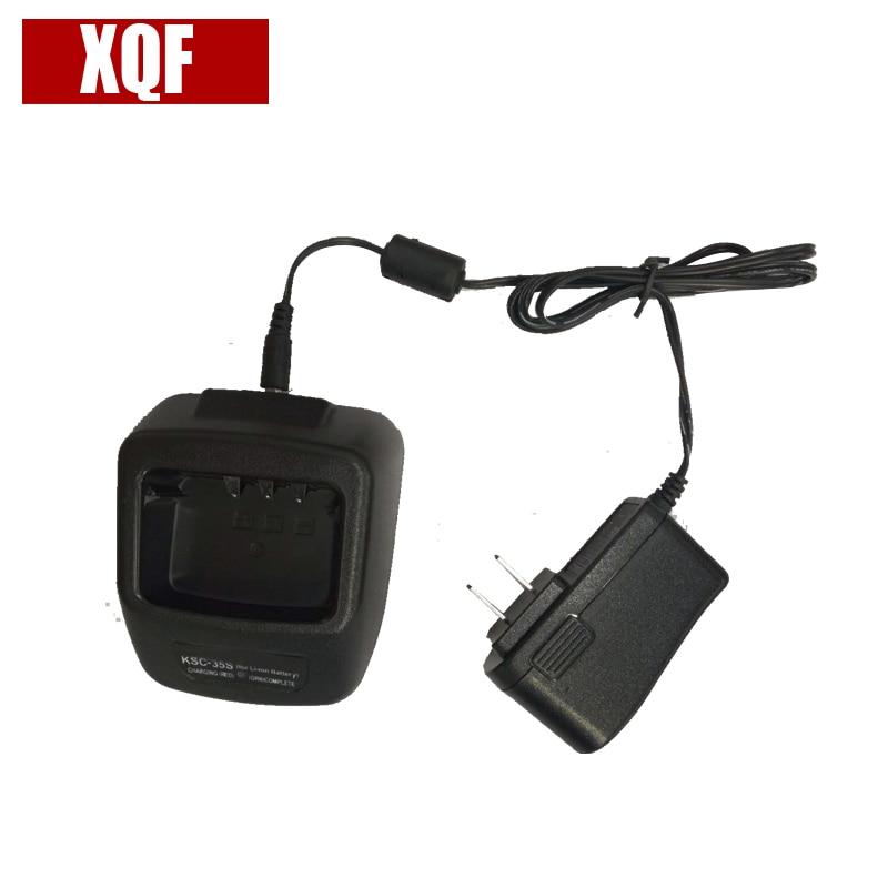 XQF Chargeur De Bureau Rapide KSC-35S Pour Kenwood Radio TK3400 TK2400 TK2402 TK2300 Radio Talkie Walkie Batterie