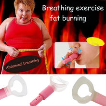 Just 5 Minute Fat Burner Abdominal Breathing Trainer Slimming Body Waist Increase Lung Capacity Face Lift Tools for Weight Loss(China)