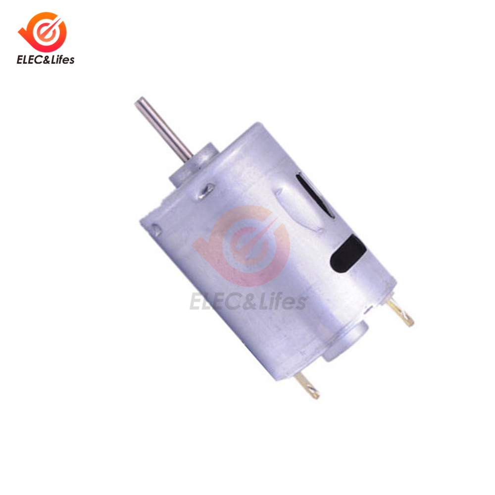 High Speed 16000rpm DC 12V Hobby Motor 380 Micro Motor for Toys motor smart car robot