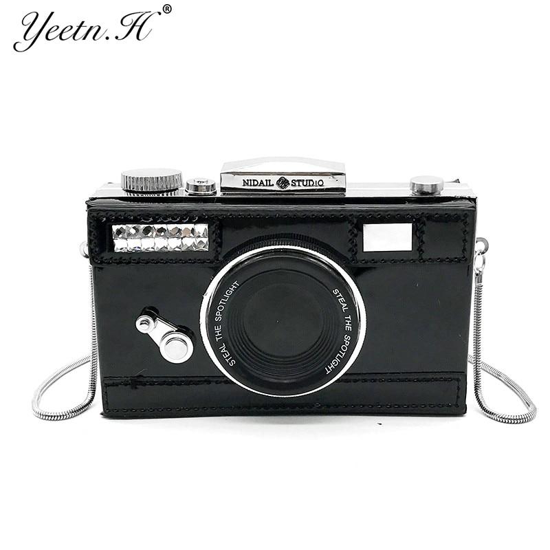 Yeetn H Brand New Women Bag Fashion Shoulder Bag Camera Shape Wallet Fashion Female Vintage Crossbody