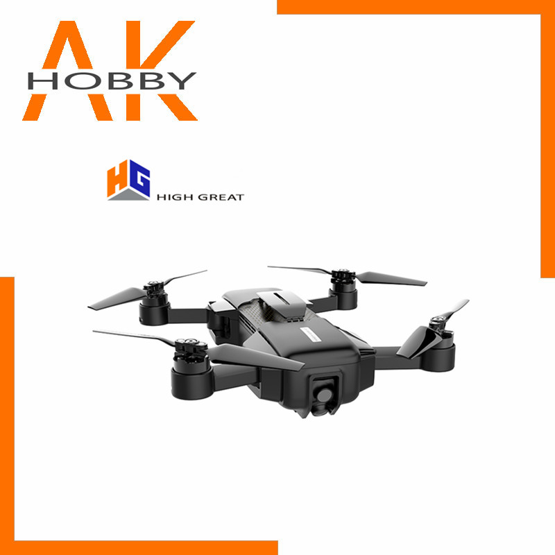 HIGH GREAT MARK 4K Drone FPV With 1080P HD Camera GPS VIO Positioning Smart Gimbal Camera Frame Foldable RC Drone image