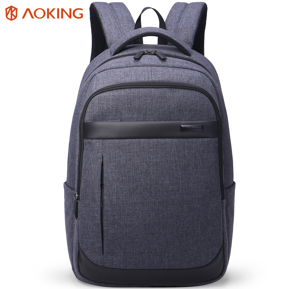 Aoking Men's Backpacks Business Leisure  Mochila for Laptop Notebook Computer Square Bags Men Backpack School Rucksack prince travel men s backpacks bolsa mochila for laptop 14 15 notebook computer bags men backpack school rucksack business