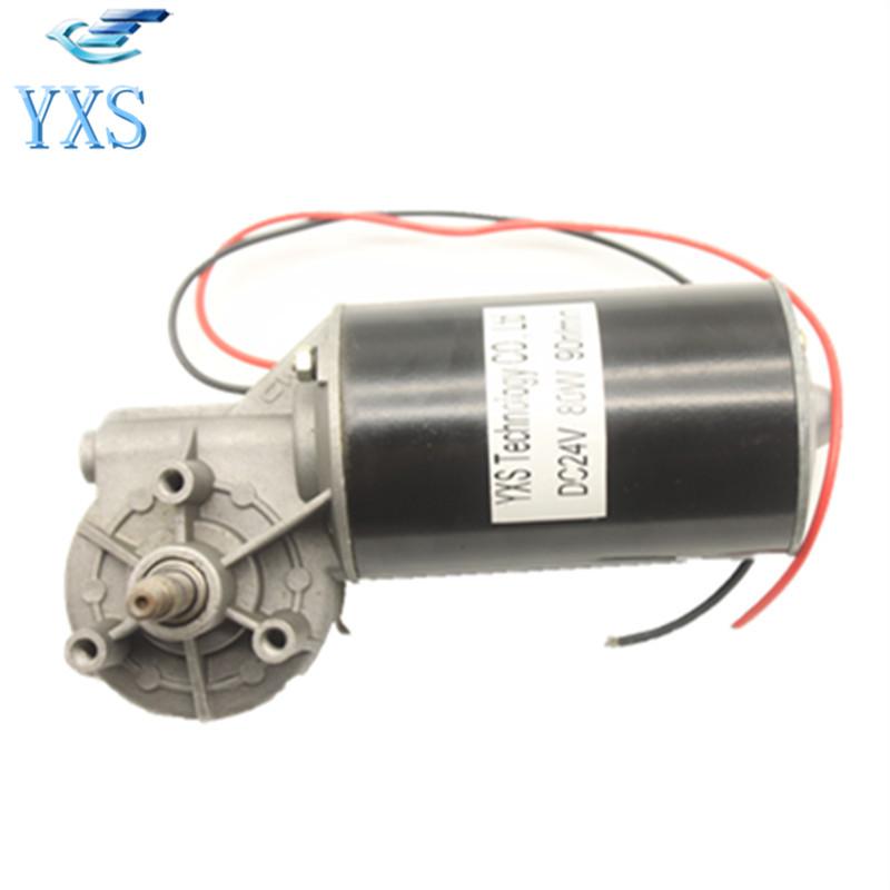 DC 24V 80W 90RPM/Min Big Power High Speed Motor Accessory 775 dc motor power motor 12v13000 big model