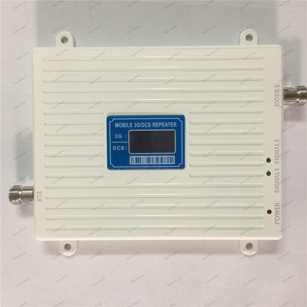 Amplificateur de signal cellulaire à double bande 2g 4g lte 1800 MHz dcs booster UMTS 3g 2100 MHz amplificateur de répéteur - 4