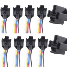Lot10 DIY Car Motor 12V Volt 40A AMP Duty Relay Harness Socket 5Pin 5 Wire_220x220 online get cheap 5 wire relay aliexpress com alibaba group 12 Volt DC Wiring at alyssarenee.co