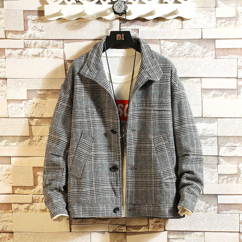 2019 春の新ハイエンドカスタムジャケット/ファッションハンサムなスタンドカラー長袖英国スタイルの子男性コートアジアサイズ 5XL