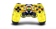 1pc Fenerbahce Spor Kulubu Football PS4 Skin Sticker Decal For Sony PS4 Playstation 4 Dualshouck 4 Game PS4 Controller Sticker