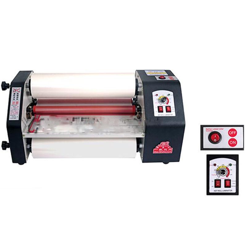 FM-330 paper laminating machine,students card,worker card,office file laminator.100% Guranteed photo laminator