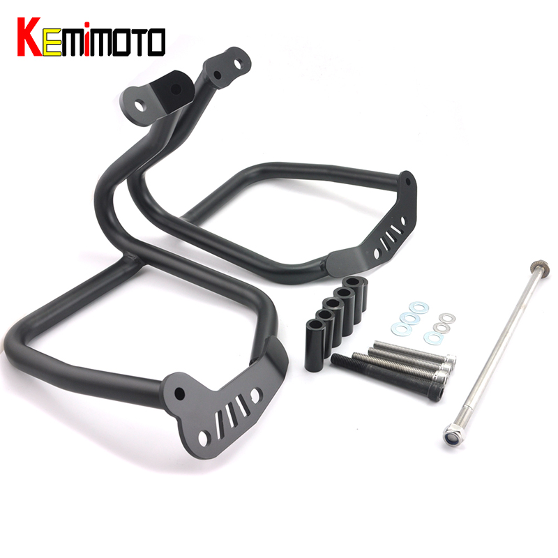KEMiMOTO R NINE T Motorcycle Refit Tank Protection Bar Protection Guard Crash Bars Frame For BMW R1200 R NINE T 2014 2015 2016 kemimoto for bmw motorcycle front brake caliper cover protection cover guard for bmw r nine t 2014 2017 r1200gs lc 2013 2015