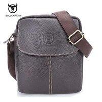 Bullcaptain 100 Genuine Leather Men S Bag Cowhide Skin Men Shoulder Bag Briefcase High Quality Men