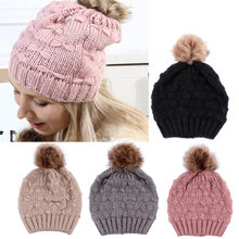 KANCOOLD 2018 Fashion Women Hemming Cap Hedging Head Baggy Warm Hat Skullies Crochet Winter Ski Beanie Skull Slouchy Caps PJ0928(China)