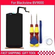 AiBaoQi orijinal Blackview BV9000 BV9000 Pro LCD ekran + dokunmatik ekran 1440*720 5.7 inç meclisi + araçları + 3M yapıştırıcı