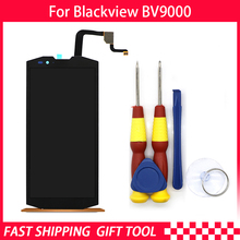Aibaoqi Originele Voor Blackview BV9000 BV9000 Pro Lcd scherm + Touch Screen 1440*720 5.7 Inch Vergadering + Gereedschap + 3M Lijm