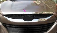 Chrome Front Hood Trim fit for Hyundai ix35 Tucson 2010 2011 2012 2013