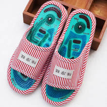 Tai Chi acupressure massage slippers men and women indoor non-slip magnetic foot shoes health foot soles foot massage shoes slip