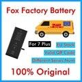 DHL UPS оригинальный 50 шт. Foxc Заводская батарея для iPhone 7P 7Plus 7 plus 0 цикл 2900mAh запасные Запасные Запчасти BMTI7PFFB