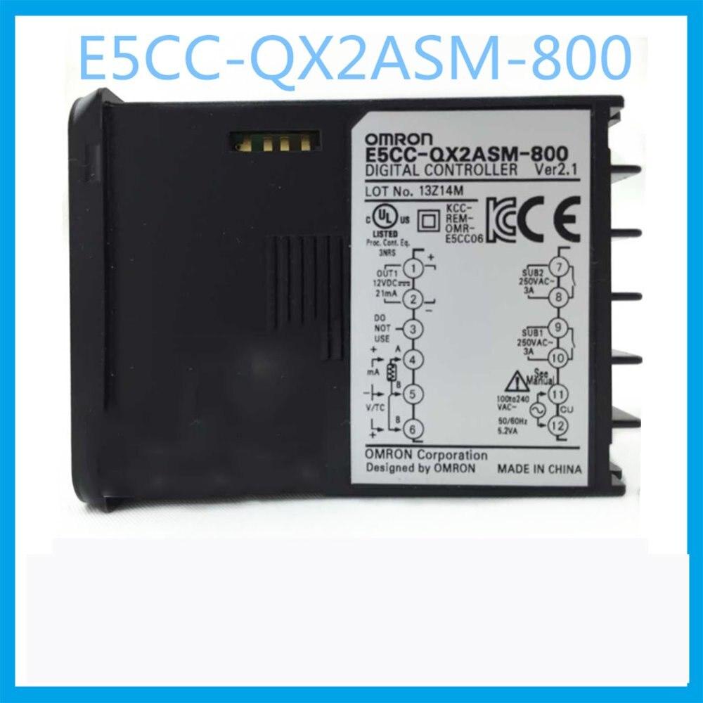 E5CC-QX2ASM-800 pour le mode de sortie de tension OMRON thermostat AC 100-240 v chauffage régulateur de température pièces de chauffage