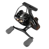 19New Freshwater/Saltwater Spinning Fishing Reel 2000 3000 6kg Drag Metal Handle Spool Lure Surf Double Knobs Reel Carp Wheel