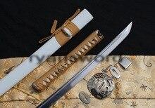 HIGH QUALITY FOLDED STEEL EAGLE TSUBA JAPANESE SAMURAI KATANA SWORD