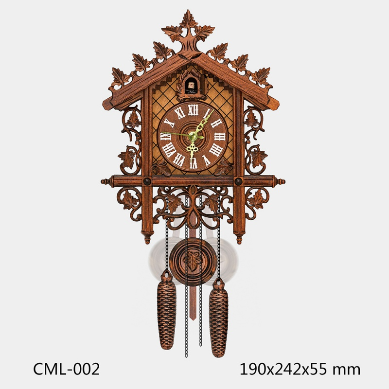 Cuckoo Wall Clocks Swing Wall Clock Modern Design Nordic Style Living Clock For Home Unicorn Restaurant Vintage Art Decoration