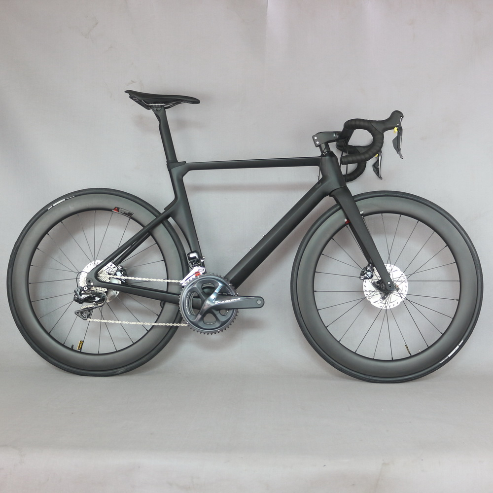 2019 New arrivals Aero Disc brake Road complete bicycle  TT-16 with SH1MANO R8070 Di2 groupset DT350 hubs ceter lock wheel .