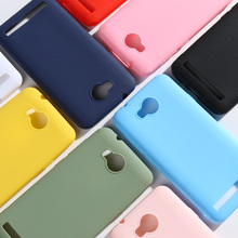 Candy Color Case For Huawei Y3 II Y3II 2 Soft Silicone Back Phone for LUA-L02 LUA-L03 LUA-L21 Bumper