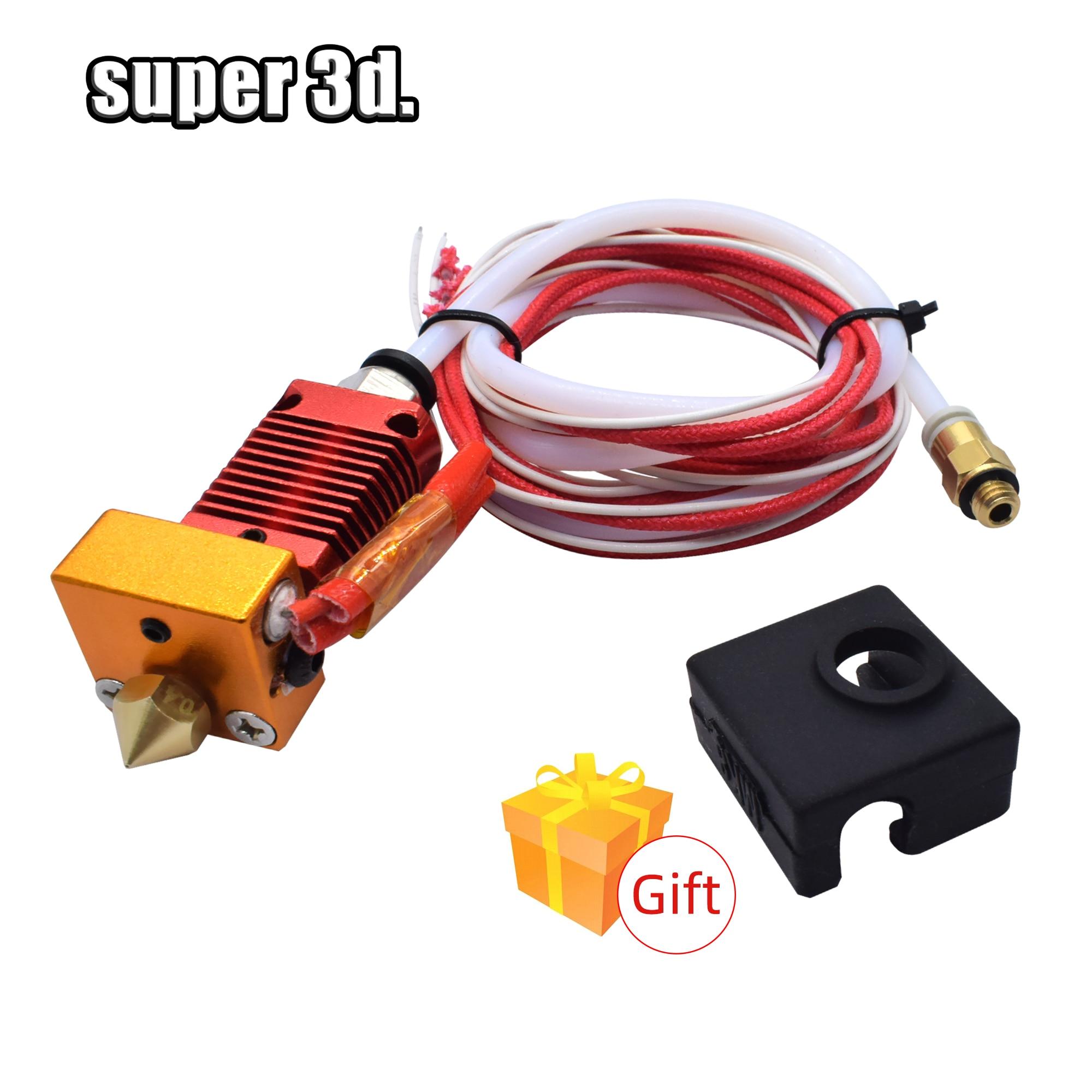 3D Volle Metall J-kopf CR10 Hotend Extruder Kit Hot End Kit für Ender-3 CR10 10s Bowden Extruder 12/24V 40W 3D Drucker Teile