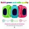 Teamyo q50 gps kid smart watch anti perdido rastreador gps Bebê telefone Smartwatch Tela OLED Chamada SOS Seguro com Anti-lost Sensor de