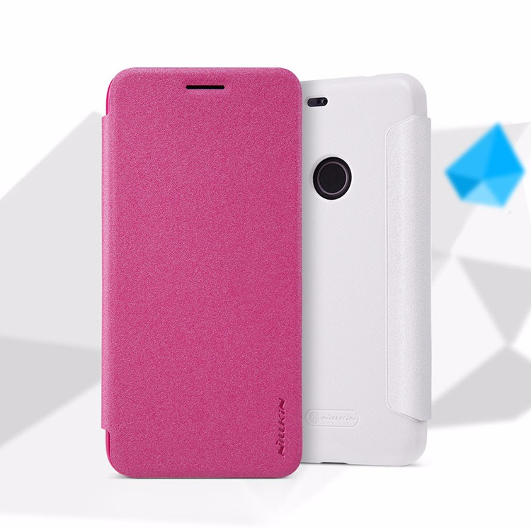 Sparkle Super Thin Humanized Design Flip Cover Protective Leather Case For HTC Google Pixel/Pixel XL With Retail Package